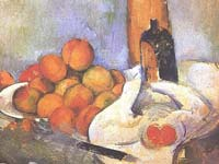 A Cezanne at the Stedeljik Museum.  Click to enlarge image.