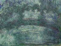 Claude Monet's Japanese Bridge. Click to enlarge image.