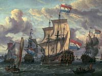 Stork's Frigates of Peter and Paul, the Amsterdam Museum.