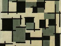 A van Doesburg at the Stedeljik Museum.  Click to enlarge image.