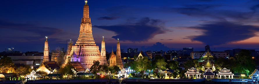 The Wat Arun in Bangkok (© Jackrit, CC-BY-ASA-3.0)