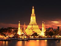 The Wat Arun temple (© Kosin Sukham, CC-BY-ASA-4.0)