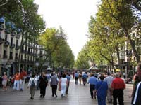 Get your bearings by walking down the lively Las Ramblas.
