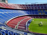 Football lovers will enjoy a tour of the Nou Camp (© JoJan, CC-BY-ASA-3.0).