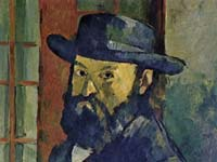 The Kunstmusuem's permanent collection includes works by Monet , Manet, Pissarro, van Gogh, Cezanne (pictured) and Gaugin.
