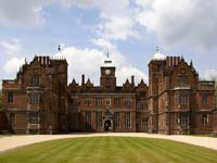 The exterior of Aston Hall, Birmingham