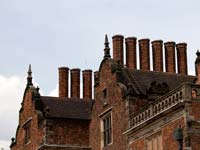 The chimneys of Aston Hall, Birmingham