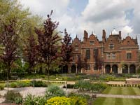 The gardens of Aston Hall, Birmingham