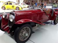 Brussels' Autoworld is home to over 250 cars, including this Berlina