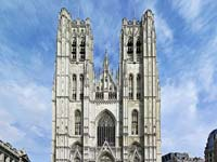 The St. Michael and St. Gudula Cathedral (© Donaldytong, CC-BY-ASA-3.0).