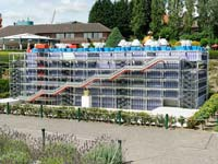 A scale model of the Pompidou Centre at Bruparck's Mini-Europe (© Michael Kramer, CC-ASA-3.0 Unported)