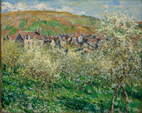 Budapest's Museum of Fine Arts holds treasures such as Monet's Flowering Plums