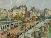 Pont Neuf, by Camille Pissarro