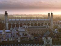 Cambridge's world famous King's College Chapel