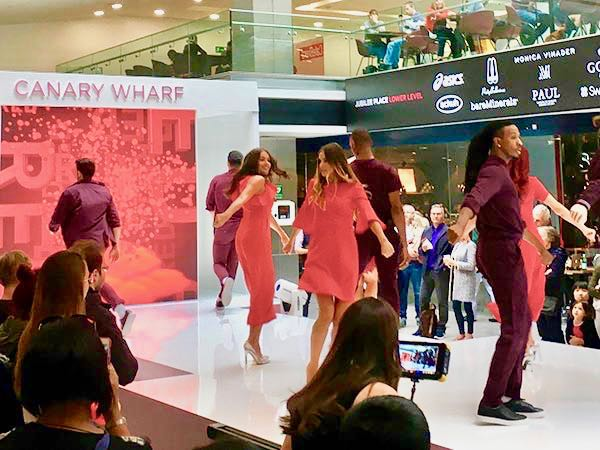 Image result for summer fashion show canary wharf