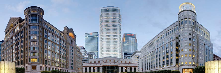 One Canada Square from Cabot Place (© Diliff, CC-BY-SA-3.0)