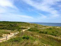 Marconi Beach, from where the Italian inventor sent the first transatlantic telegraph, Cape Cod