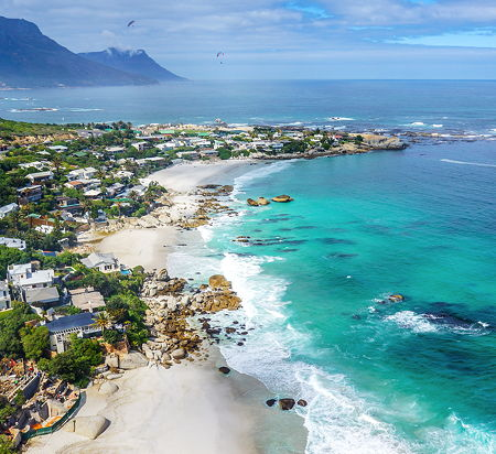 Cape Town as a beach resort