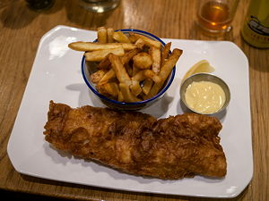 Fish and Chips at Thirty Ate