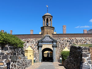 Entrance of Castle of Good Hope