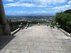 View from the Rhodes memorial