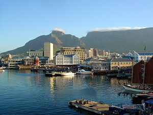 Cape Town Waterfront Harbour