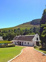 The Morgenhof Wine Estate, Stellenbosch, Cape Town.