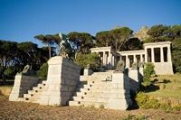 The Rhodes Memorial, found on Table Mountain's eastern foothills.