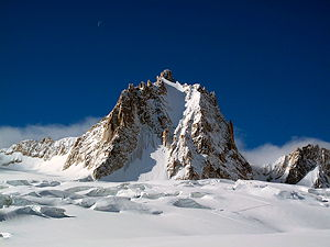 The North face of Tour Ronde, Massiv of Mont Blanc
