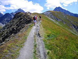 The UTMB has a distance of approximately 171 kilometres
