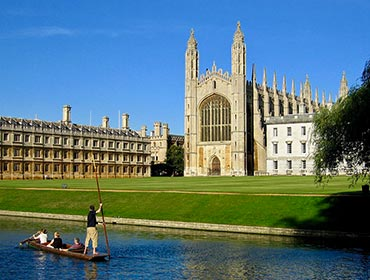 King's College Chapel, Cambridge, on a summer's day (© Andrew Dunn / CC BY-SA 2.0)