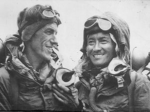 29 May 1953 Tenzing Norgay and Edmund Hillary