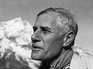 Edouard Wyss-Dunant during the 1952 Swiss Mount Everest expedition