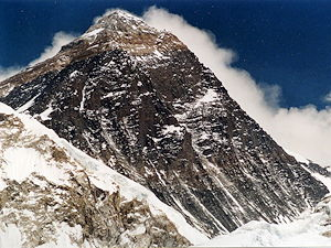 Mount Everest, view from Kala Patthar (5700 m)