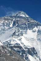 The gargantuan Mount Everest.  Click to enlarge image.