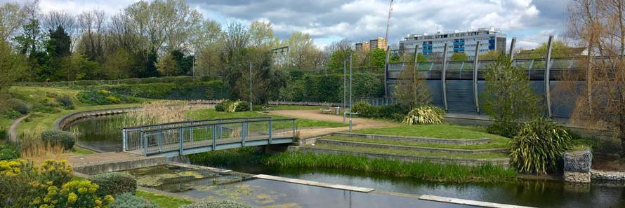 The Arts Pavillion in Mile End Park
