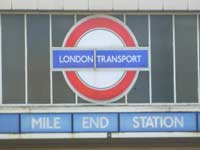 Mile End tube station