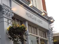The Morgan Arms is Mile End's premier pub