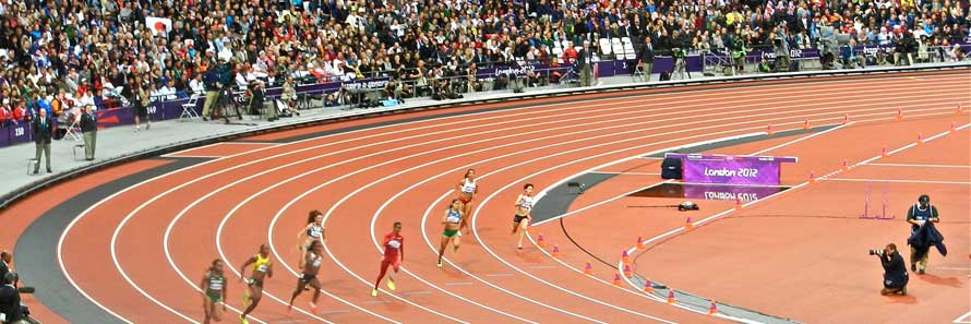 Athletics In The Olympic Stadium