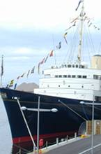 Edinburgh is now home to the Royal Yacht Brittania