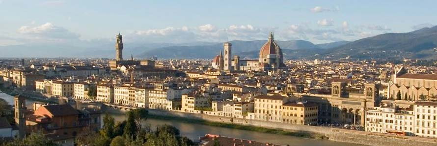 A panoramic view of Florence (© Sergey Ashmarin, CC-BY-ASA-3.0)