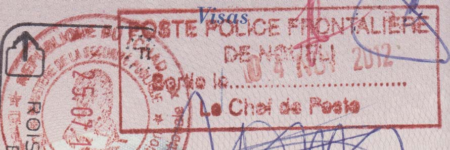 Passports and travel visas
