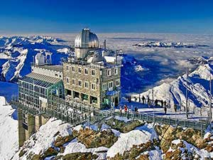 The Sphinx Observatory, Jungfraujoch
