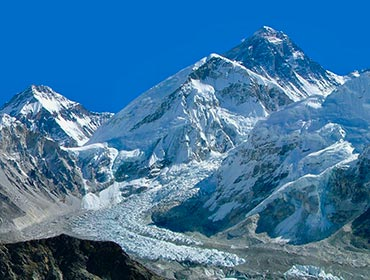 The world's highest peak, Mount Everest