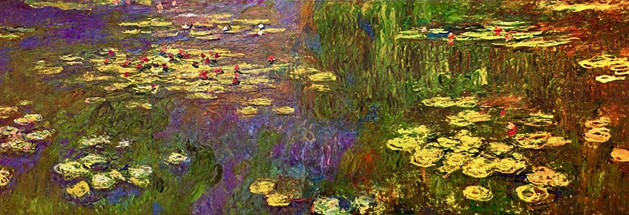 One of Monet's Water Lilies series