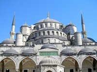 The Blue Mosque's cascading domes