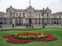 Lima's Presidential Palace