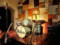 The Beatles Story, Liverpool, displays a mock-up of the Cavern Club Stage (© Ronald Saunders, CC-BY-ASA-2.0).