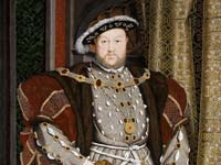 Hans Holbein's portrait of Henry VIII at the Walker Art Gallery, Liverpool