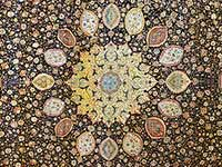 A picture of the 16th century Ardabil Carpet.